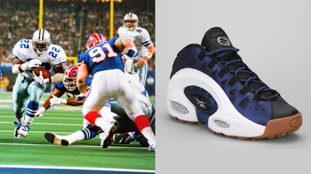Today in Performance Sneaker History  Emmitt Smith Wins SuperBowl ... ec62e4ffa