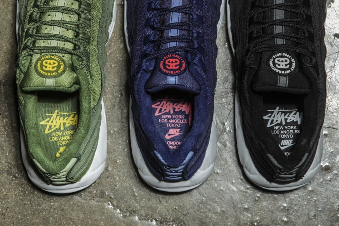 d9351c9f595 Stussy x Nike Air Max 95 Collection Detailed Images