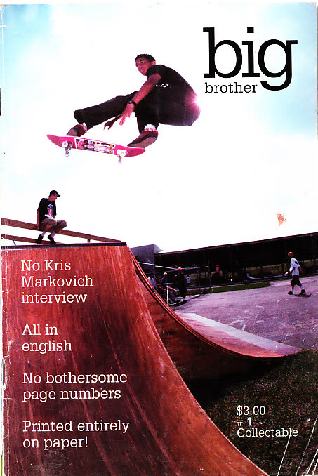 Dallas Auto Show >> Big Brother - The First Covers of Iconic Skateboarding ...