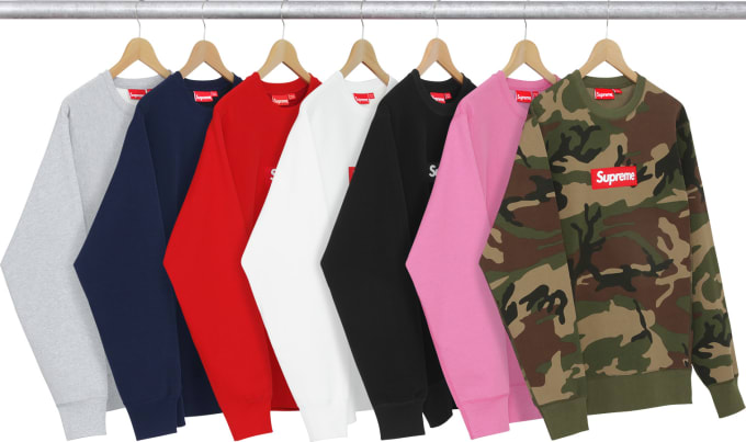 Supreme Drops Box Logo Sweatshirt Internet Promptly