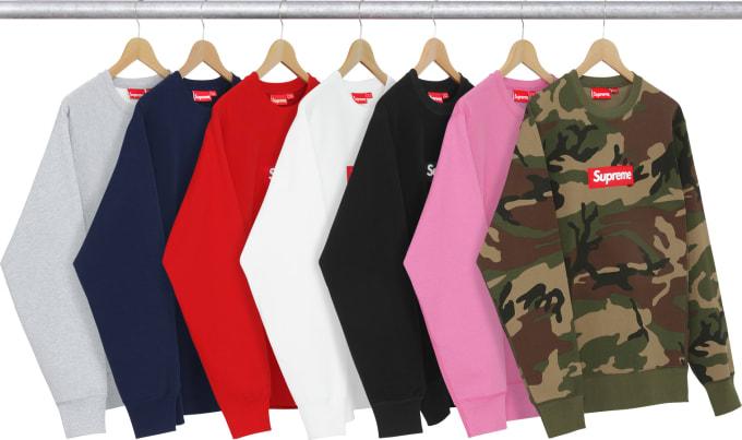 Supreme Drops Box Logo Sweatshirt Internet Promptly