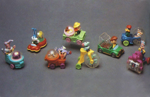 Tiny Toons Noise Maker Cars - The 50 Coolest Happy Meal ...
