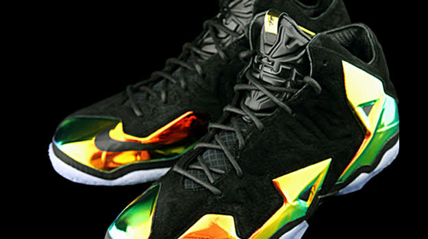 0bf9fcabcd1 First Look at the Nike LeBron 11 EXT