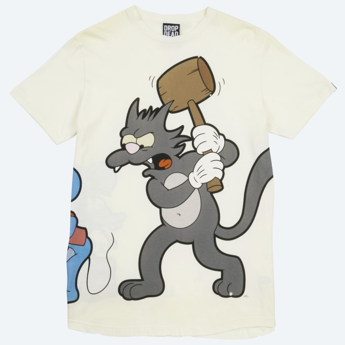 Best Cartoon and Clothing Collaborations in Recent History ... Drop Dead Clothing History