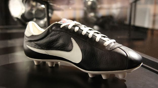 first nike soccer boot