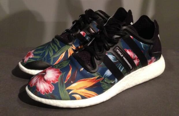 9189f71a6 The adidas Y-3 Yohji Boost Blossoms With Floral Print