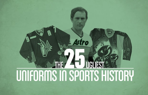 d21baafdcd7 The 25 Ugliest Uniforms in Sports History