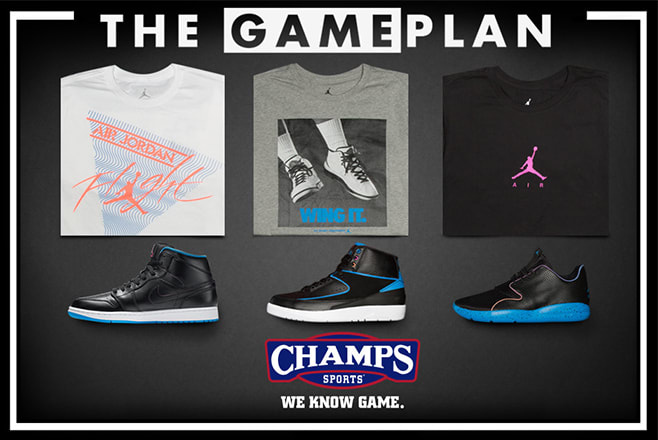 6951a70ce32914 The Jordan Radio Raheem Collection for Champs Sports  The Game Plan ...