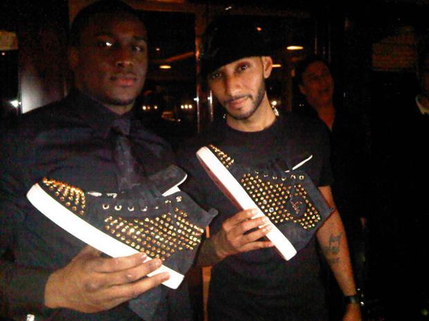 dc1de65e2e2d A History of Celebrities Wearing Christian Louboutin Sneakers