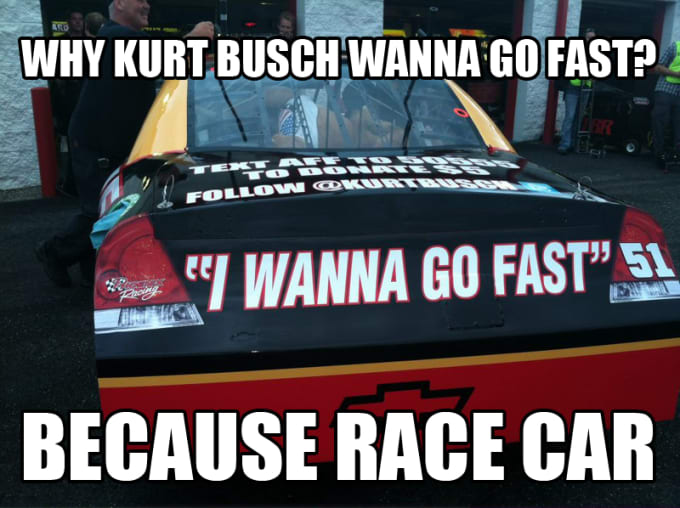 """The Car Shop >> The 25 Funniest """"Because Race Car"""" Memes   Complex"""