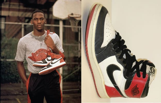 Image result for michael jordan rookie signature shoes