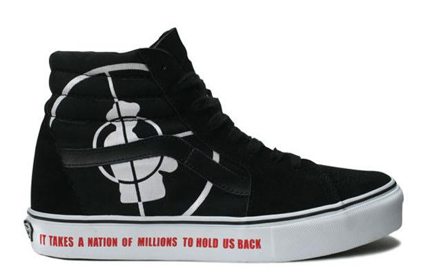 249ab4bca959eb Vans x Supreme x Public Enemy Sk8-Hi – Black (2006)  £770    1000