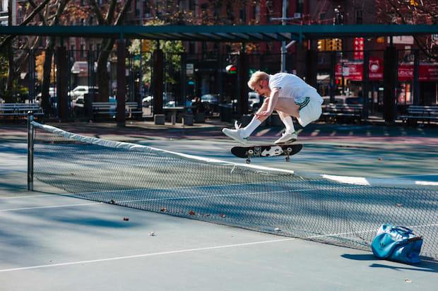stan smith skateboarding