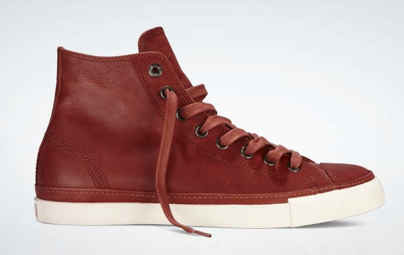 b0357b3e7fd310 Converse has recently released a premium-looking pair of the Chuck Taylor  Low Profile. The leather iteration showcases an enticing Burnt  Henna-colored upper ...