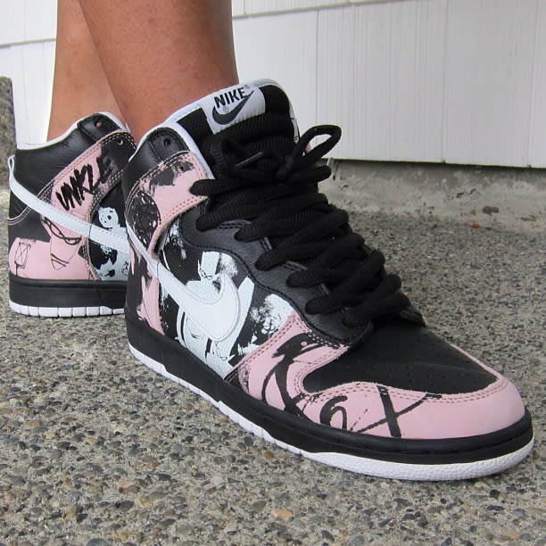 timeless design b8175 fe27b ... nike dunk high pro sb unkle ... legit check ...