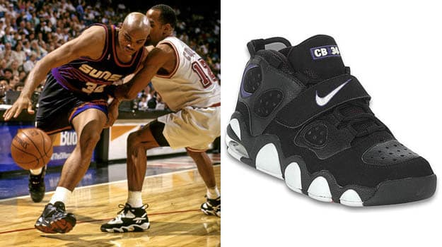 fadbbd89b Today in Performance Sneaker History  Charles Barkley Turns 50