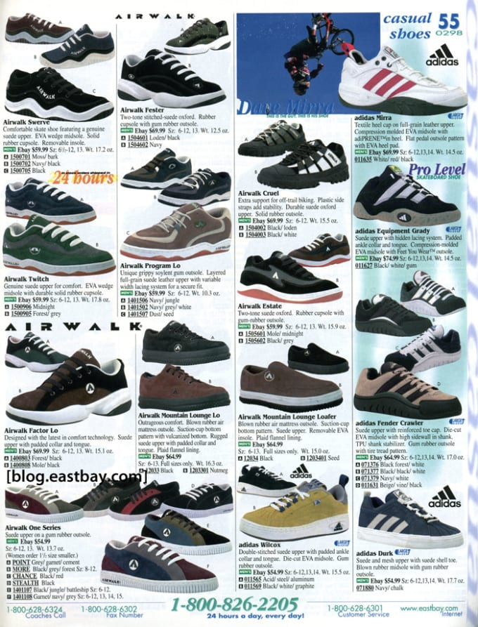 Adidas Mirra 25 Classic Sneakers From Vintage Eastbay