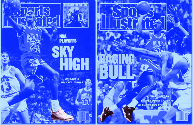 outlet store 9cae4 c4aa6 A Complete Sneaker Guide To Michael Jordan s Sports Illustrated Covers