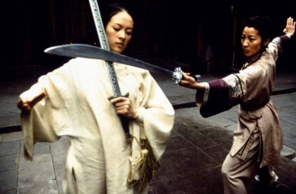 Michelle Yeoh Fight Zhang Ziyi Vs. Michell...