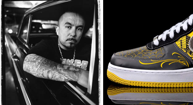 a26dab2df4509 A History Of Mr. Cartoon s Sneaker Collaborations