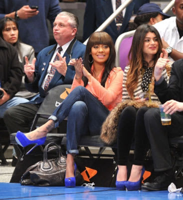 Hottest celebrity sports fans lakers