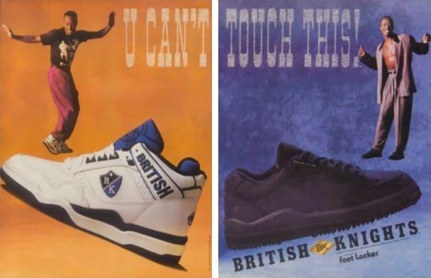 new style 9c156 5c661 British Knights Hooks-Up With MC Hammer, Royally