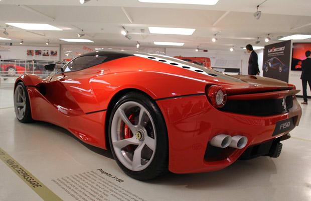 Ferrari F150 8 Gallery The Ferrari F150 Concepts Looked Much More