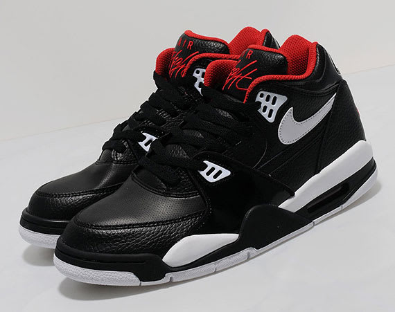 hot sale online 7a267 97410 The latest colorway release of the Air Flight 89 showcases a Bulls-proper  black  nike air flight 89 cool grey ...