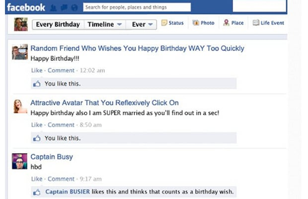 Wish Her A Happy Birthday On Facebook