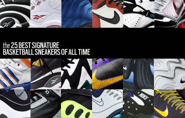4a0f1c55ece The 25 Best Signature Basketball Sneakers of All Time