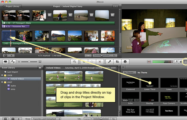 how to add subtitles in imovie 2011