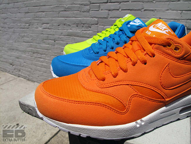 cheap for discount 5a8c3 8b7af And if you re needing a re-up, Nike s got you, as they ve recently let  loose a trio of vibrant takes on the Air Max 1. Optioned in Atomic Green,  Dynamic ...