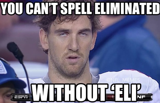Funniest Sports Memes Of The Week : Eli manning gallery the funniest sports memes of