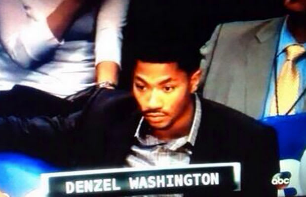 6e28ab129f05 Does Derrick Rose Look Like Denzel Washington to You  (Updated ...