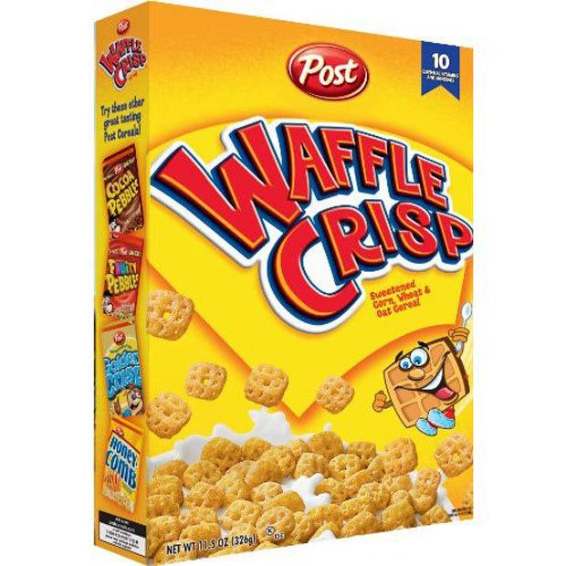 Waffle Crisp - 50 Best Breakfast Cereals Of All Time