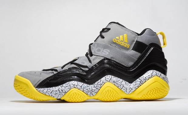 online retailer d4529 97691 The Top Ten 2000 options keep on coming, as adidas reveals this new grey,  black, and yellow pair, slated to hit retailers in the coming weeks.