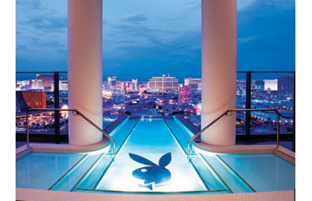 Playboy pool at the palms hotel 30 cool swimming pools - Playboy swimming pool ...