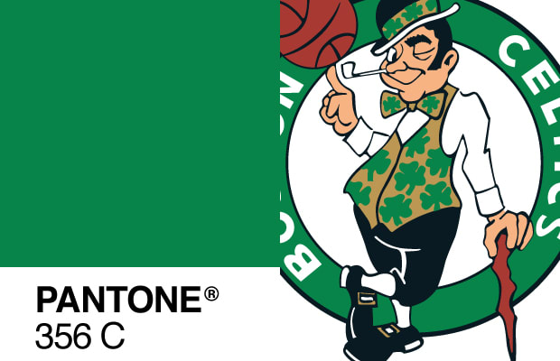 strong>Pantone 356C (Boston Celtics Emerald Green)<strong><p ...