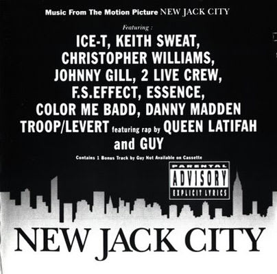 album new jack city soundtrack label giant records producer stanley brown