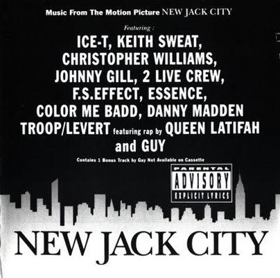 album new jack city soundtrack label giant records producer stanley brown