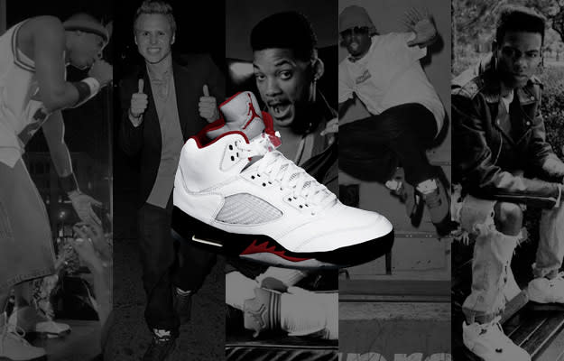 a821a9fac5e3 A History of Celebrities Wearing the Air Jordan V