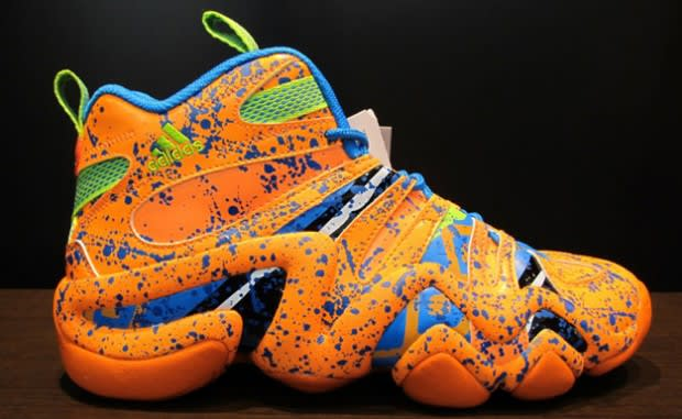 ae8d00eb8 adidas Splatters the Crazy 8