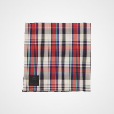 maiden noir plaid handkerchief the 15 best handkerchiefs. Black Bedroom Furniture Sets. Home Design Ideas