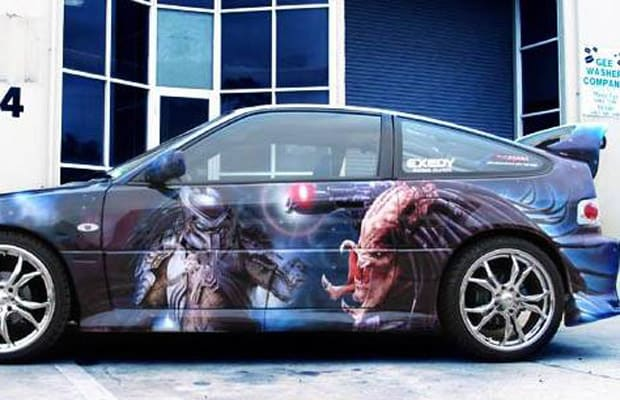 Airbrush 9 - 25 Crazy Airbrushed Art Cars | Complex  Airbrush 9 - 25...