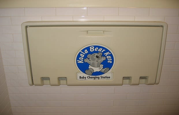 if youre about to change your kids diaper in public and happen to notice some white powder on the changing table theres a good chance that its cocaine - Baby Changing Station