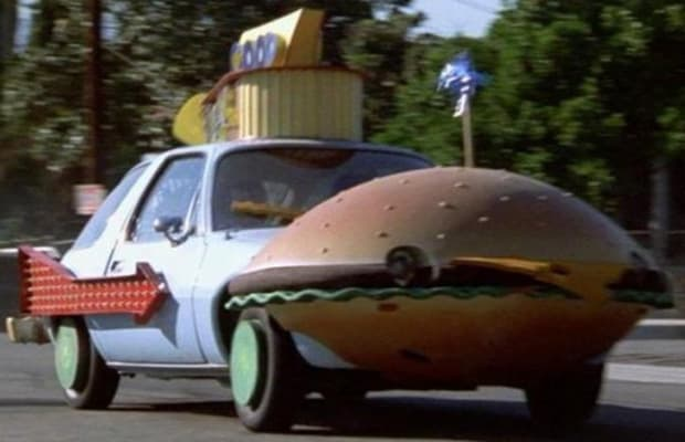 Good Car Movies: Good Burger: AMC Pacer - The 50 Coolest Movie Cars