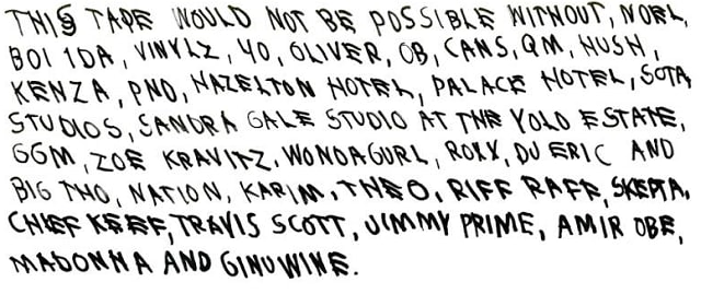 Its A Long Mythologized Fact That Doctors Have The Worst Handwriting Of Any Profession But It Looks Like Rappers Could Rank Close Second