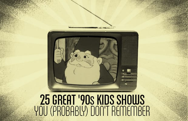 704667690d 25 Great  90s Kids Shows You (Probably) Don t Remember