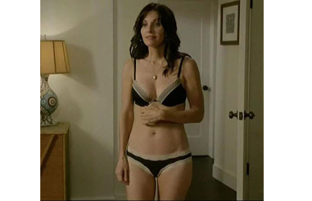Courteney Cox Gallery The 40 Hottest Actresses In Their
