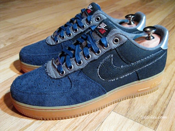 new style 52bd8 818b1 ... Nike Air Force 1 Low Bespoke by Justin Curtin ...